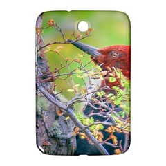 Woodpecker At Forest Pecking Tree, Patagonia, Argentina Samsung Galaxy Note 8 0 N5100 Hardshell Case  by dflcprints