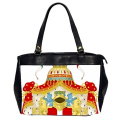 Coat Of Arms Of The Kingdom Of Italy Office Handbags (2 Sides)  by abbeyz71
