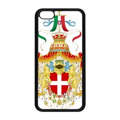 Coat Of Arms Of The Kingdom Of Italy Apple Iphone 5c Seamless Case (black) by abbeyz71