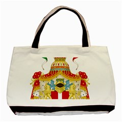 Coat Of Arms Of The Kingdom Of Italy Basic Tote Bag by abbeyz71