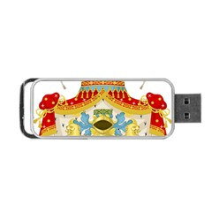 Coat Of Arms Of The Kingdom Of Italy Portable Usb Flash (one Side) by abbeyz71