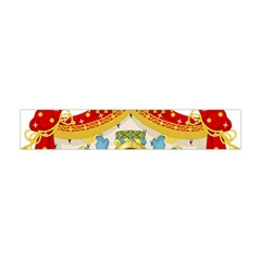 Coat Of Arms Of The Kingdom Of Italy Flano Scarf (mini) by abbeyz71