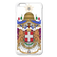 Greater Coat Of Arms Of Italy, 1870 1890  Apple Iphone 6 Plus/6s Plus Enamel White Case by abbeyz71