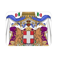 Greater Coat Of Arms Of Italy, 1870 1890 Double Sided Flano Blanket (mini)  by abbeyz71