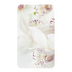 Orchids Flowers White Background Memory Card Reader by Nexatart