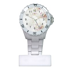 Orchids Flowers White Background Plastic Nurses Watch by Nexatart