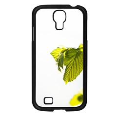 Leaves Nature Samsung Galaxy S4 I9500/ I9505 Case (black) by Nexatart