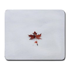 Winter Maple Minimalist Simple Large Mousepads by Nexatart