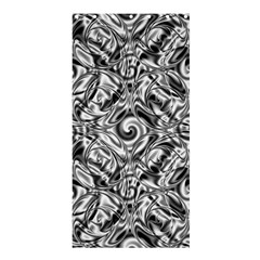 Gray Scale Pattern Tile Design Shower Curtain 36  X 72  (stall)  by Nexatart