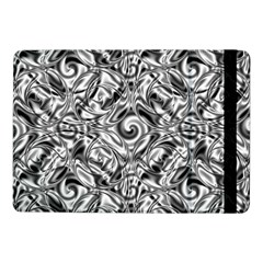Gray Scale Pattern Tile Design Samsung Galaxy Tab Pro 10 1  Flip Case by Nexatart