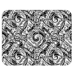 Gray Scale Pattern Tile Design Double Sided Flano Blanket (medium)  by Nexatart