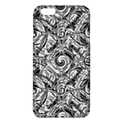 Gray Scale Pattern Tile Design Iphone 6 Plus/6s Plus Tpu Case by Nexatart
