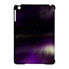 The Northern Lights Nature Apple Ipad Mini Hardshell Case (compatible With Smart Cover) by Nexatart