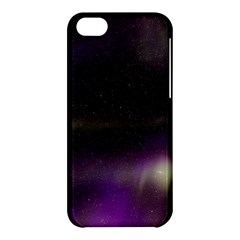 The Northern Lights Nature Apple Iphone 5c Hardshell Case by Nexatart
