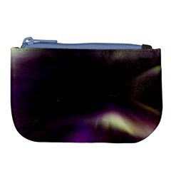 The Northern Lights Nature Large Coin Purse by Nexatart