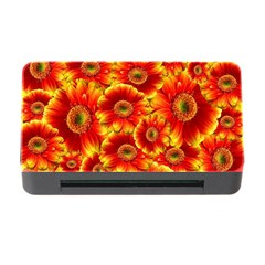 Gerbera Flowers Nature Plant Memory Card Reader With Cf by Nexatart