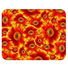Gerbera Flowers Nature Plant Double Sided Flano Blanket (medium)  by Nexatart