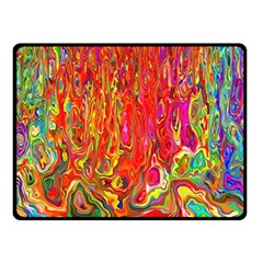 Background Texture Colorful Fleece Blanket (small) by Nexatart