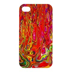 Background Texture Colorful Apple Iphone 4/4s Premium Hardshell Case by Nexatart