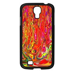 Background Texture Colorful Samsung Galaxy S4 I9500/ I9505 Case (black) by Nexatart