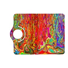 Background Texture Colorful Kindle Fire Hd (2013) Flip 360 Case by Nexatart