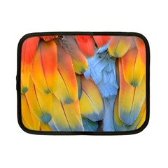 Spring Parrot Parrot Feathers Ara Netbook Case (small)  by Nexatart