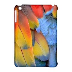 Spring Parrot Parrot Feathers Ara Apple Ipad Mini Hardshell Case (compatible With Smart Cover) by Nexatart