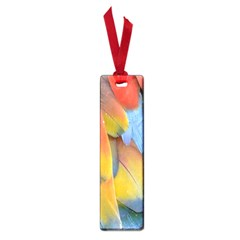 Spring Parrot Parrot Feathers Ara Small Book Marks by Nexatart