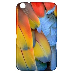 Spring Parrot Parrot Feathers Ara Samsung Galaxy Tab 3 (8 ) T3100 Hardshell Case  by Nexatart
