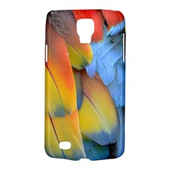 Spring Parrot Parrot Feathers Ara Galaxy S4 Active by Nexatart