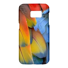 Spring Parrot Parrot Feathers Ara Samsung Galaxy S7 Hardshell Case  by Nexatart