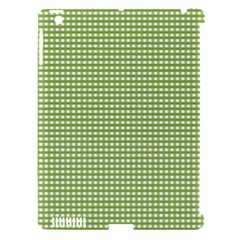 Gingham Check Plaid Fabric Pattern Apple Ipad 3/4 Hardshell Case (compatible With Smart Cover) by Nexatart
