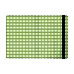 Gingham Check Plaid Fabric Pattern Apple Ipad Mini Flip Case by Nexatart