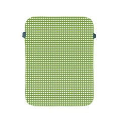 Gingham Check Plaid Fabric Pattern Apple Ipad 2/3/4 Protective Soft Cases by Nexatart