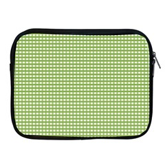 Gingham Check Plaid Fabric Pattern Apple Ipad 2/3/4 Zipper Cases by Nexatart