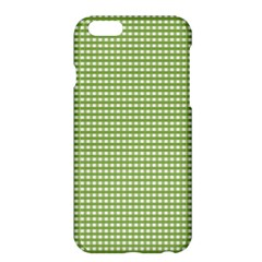 Gingham Check Plaid Fabric Pattern Apple Iphone 6 Plus/6s Plus Hardshell Case by Nexatart