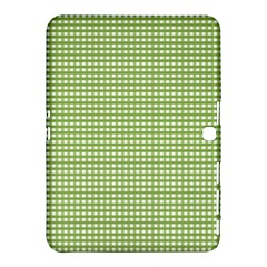 Gingham Check Plaid Fabric Pattern Samsung Galaxy Tab 4 (10 1 ) Hardshell Case  by Nexatart