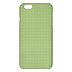 Gingham Check Plaid Fabric Pattern Iphone 6 Plus/6s Plus Tpu Case by Nexatart