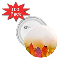 Autumn Leaves Colorful Fall Foliage 1 75  Buttons (100 Pack)  by Nexatart