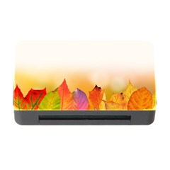 Autumn Leaves Colorful Fall Foliage Memory Card Reader With Cf by Nexatart