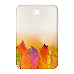 Autumn Leaves Colorful Fall Foliage Samsung Galaxy Note 8 0 N5100 Hardshell Case  by Nexatart