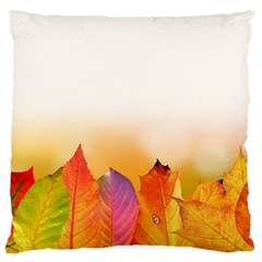 Autumn Leaves Colorful Fall Foliage Standard Flano Cushion Case (one Side) by Nexatart