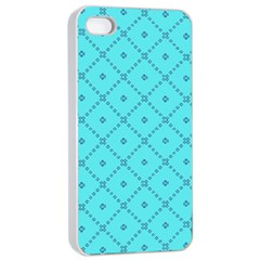 Pattern Background Texture Apple Iphone 4/4s Seamless Case (white) by Nexatart