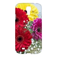 Flowers Gerbera Floral Spring Samsung Galaxy S4 I9500/i9505 Hardshell Case by Nexatart