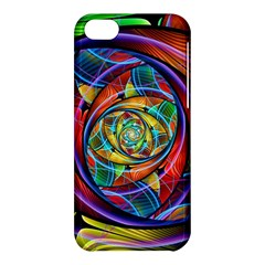 Eye Of The Rainbow Apple Iphone 5c Hardshell Case by WolfepawFractals