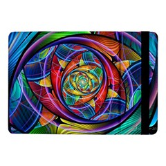 Eye Of The Rainbow Samsung Galaxy Tab Pro 10 1  Flip Case by WolfepawFractals