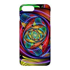 Eye Of The Rainbow Apple Iphone 7 Plus Hardshell Case by WolfepawFractals