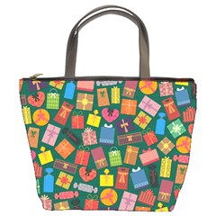 Presents Gifts Background Colorful Bucket Bags by Nexatart