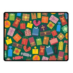 Presents Gifts Background Colorful Fleece Blanket (small) by Nexatart