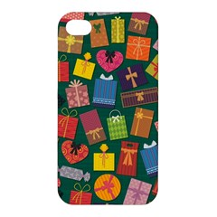 Presents Gifts Background Colorful Apple Iphone 4/4s Hardshell Case by Nexatart